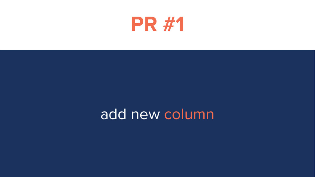 PR #1 add new column
