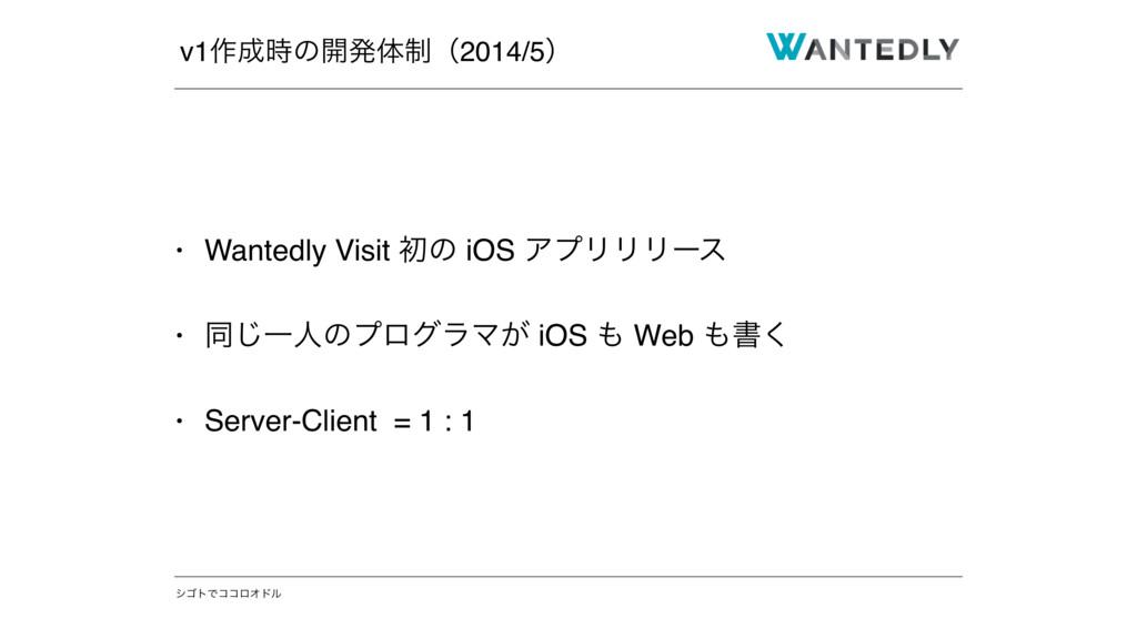 γΰτͰίίϩΦυϧ • Wantedly Visit ॳͷ iOS ΞϓϦϦϦʔε • ಉ͡...