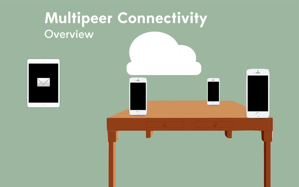 ✉️ ✉️ ✉️ Multipeer Connectivity Overview