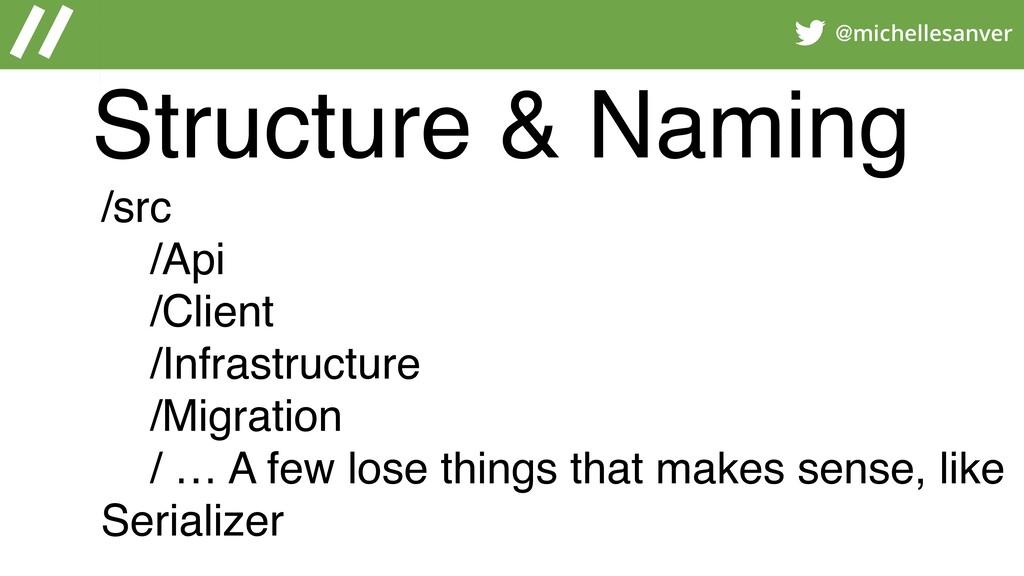 @michellesanver /src /Api /Client /Infrastructu...