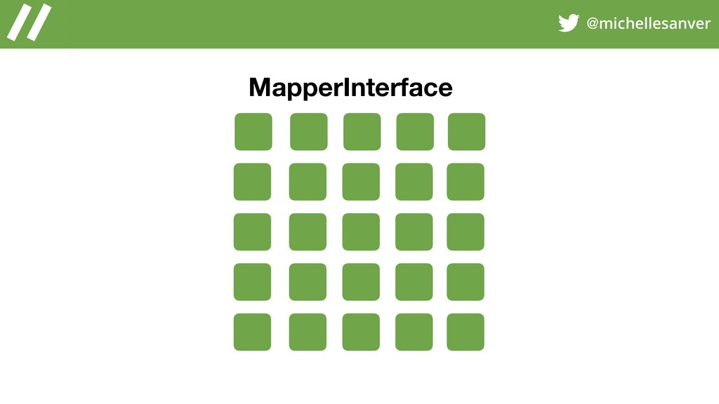 @michellesanver MapperInterface