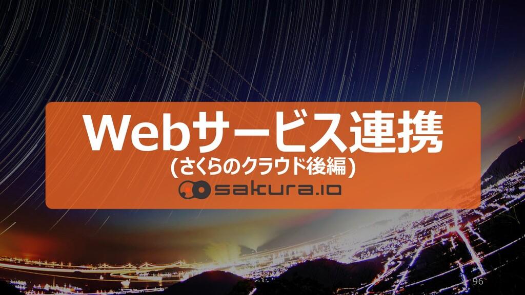 96 Webサービス連携 (さくらのクラウド後編)
