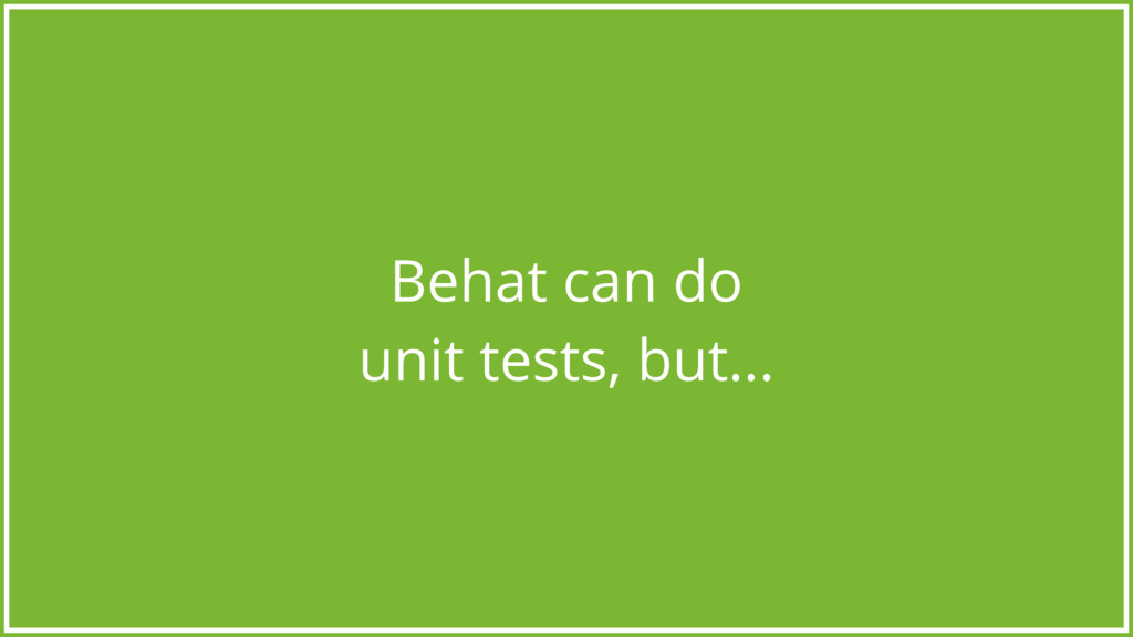 Behat can do