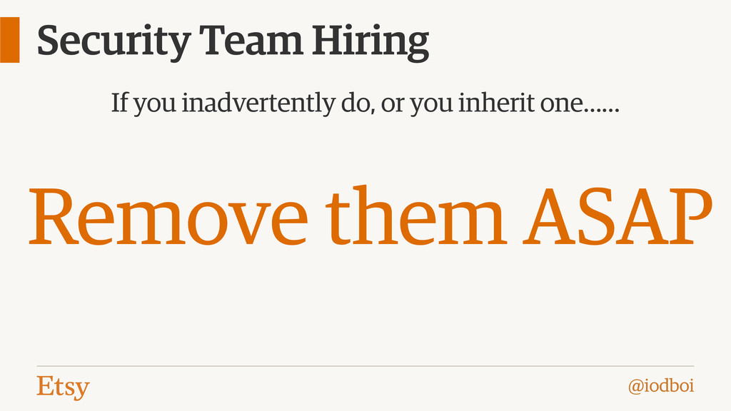@iodboi Security Team Hiring If you inadvertent...
