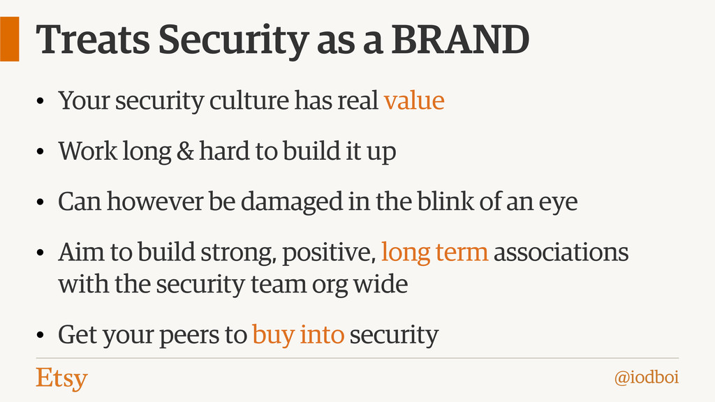 @iodboi Treats Security as a BRAND • Your secur...