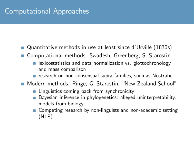 Computational Approaches Quantitative methods i...