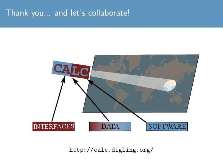 Thank you... and let's collaborate! DATA LC CA ...