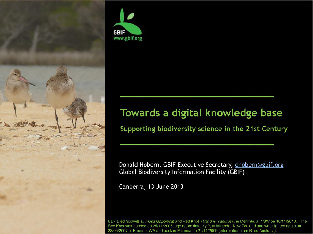 Towards a digital knowledge base Supporting bio...