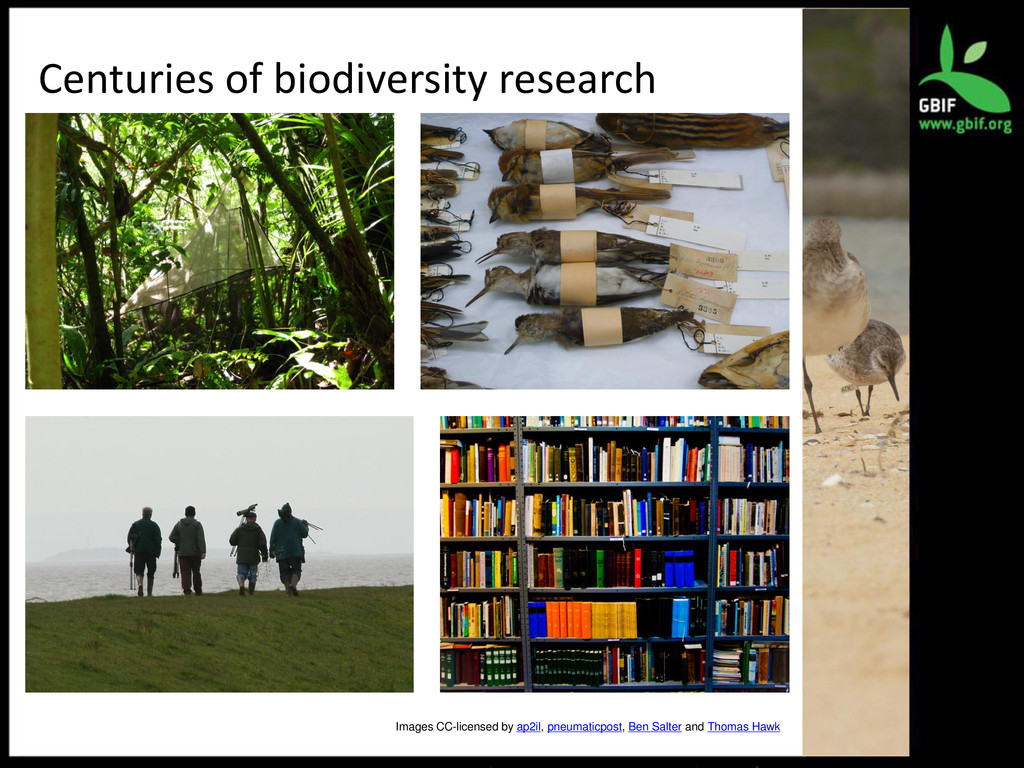 Centuries of biodiversity research Images CC-li...