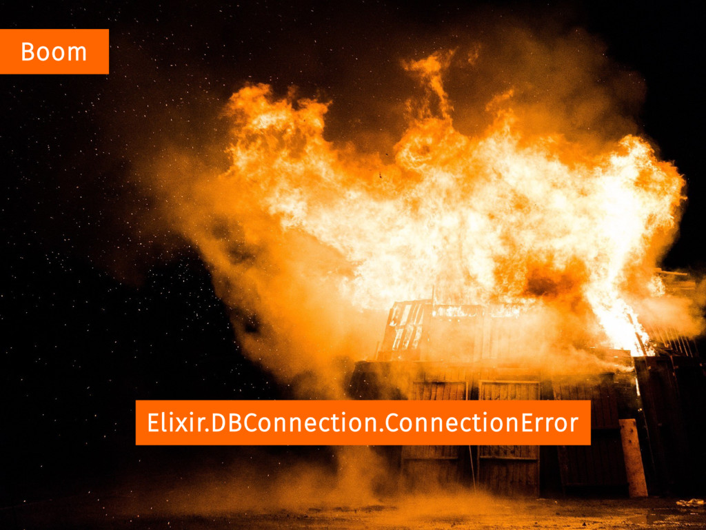 Boom Elixir.DBConnection.ConnectionError