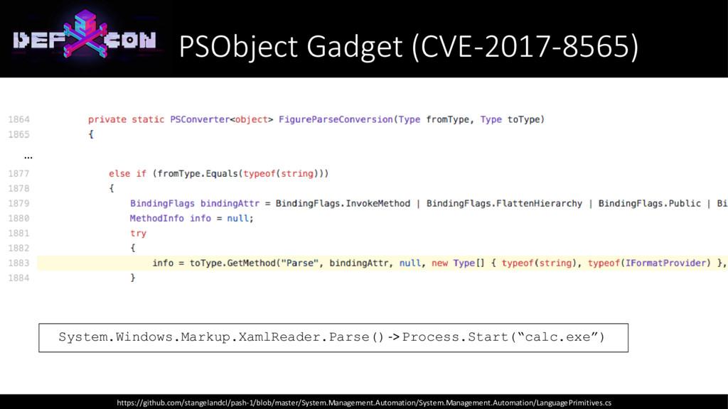 System.Windows.Markup.XamlReader.Parse() -> Pro...