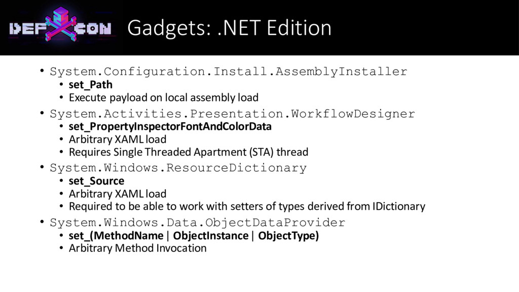 Gadgets: .NET Edition • System.Configuration.In...