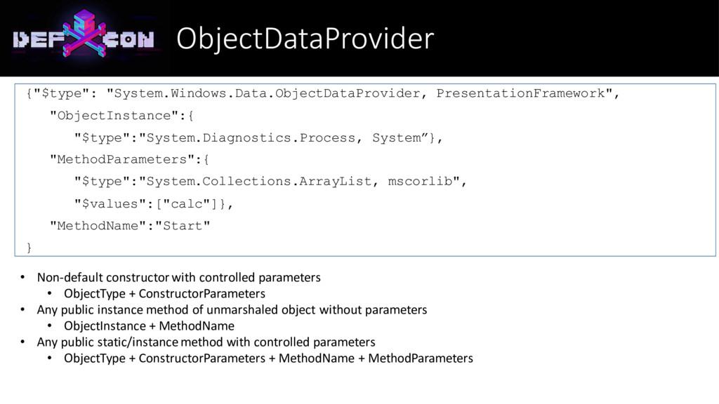 "ObjectDataProvider {""$type"": ""System.Windows.Da..."