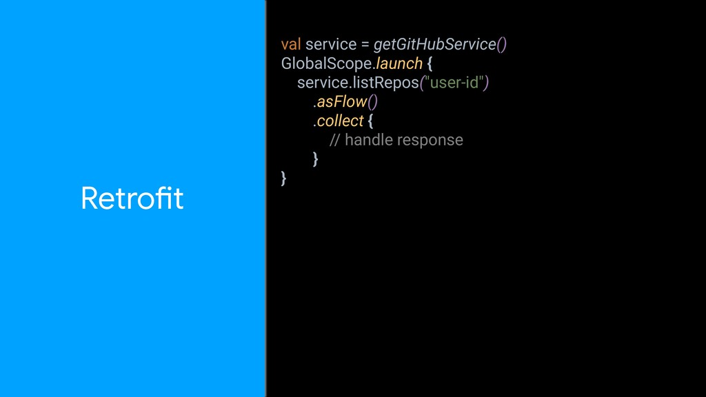 val service = getGitHubService() GlobalScope.la...