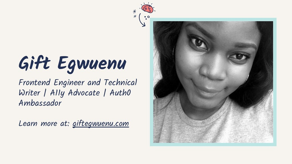 Gift Egwuenu Frontend Engineer and Technical Wr...