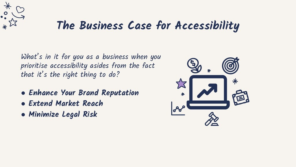 The Business Case for Accessibility What's in i...
