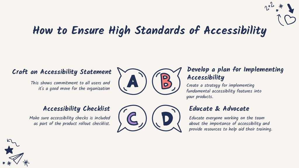 How to Ensure High Standards of Accessibility C...