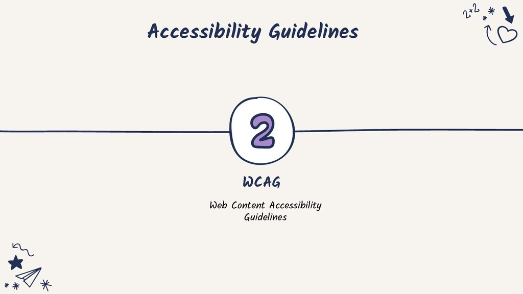Accessibility Guidelines WCAG Web Content Acces...