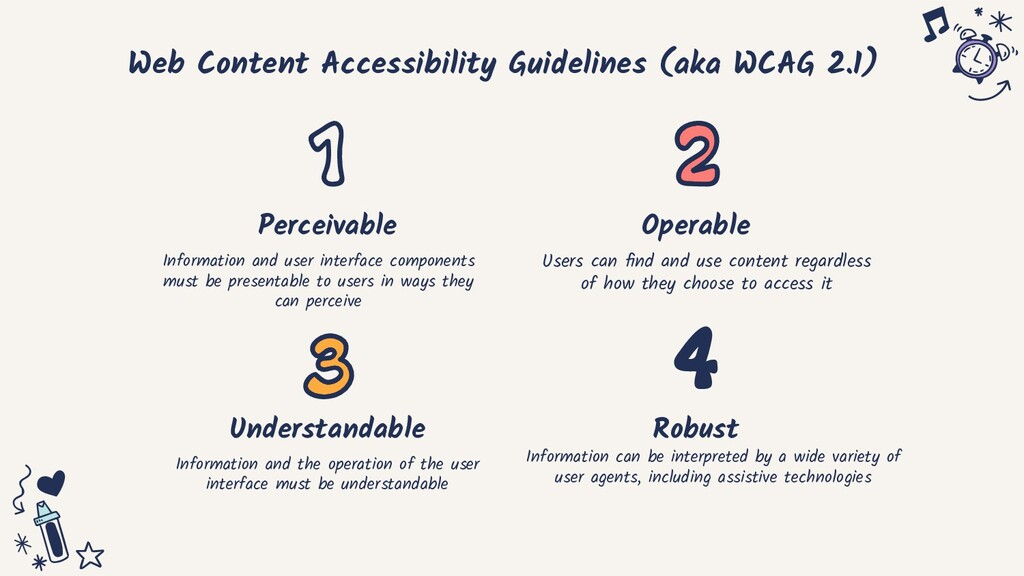Web Content Accessibility Guidelines (aka WCAG ...