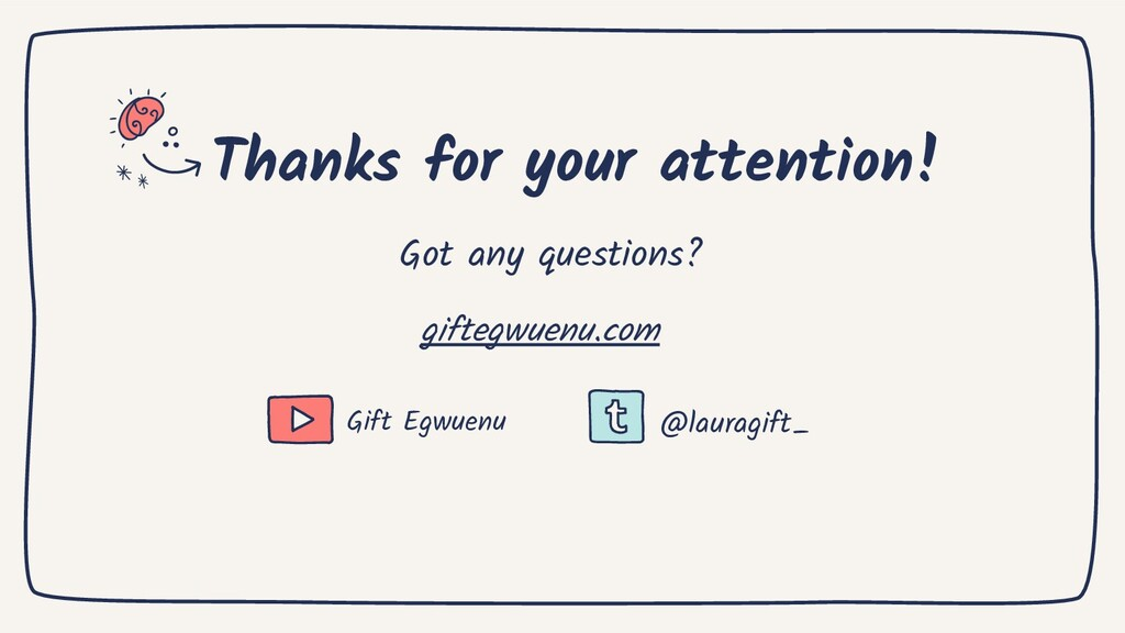 Thanks for your attention! giftegwuenu.com Gift...