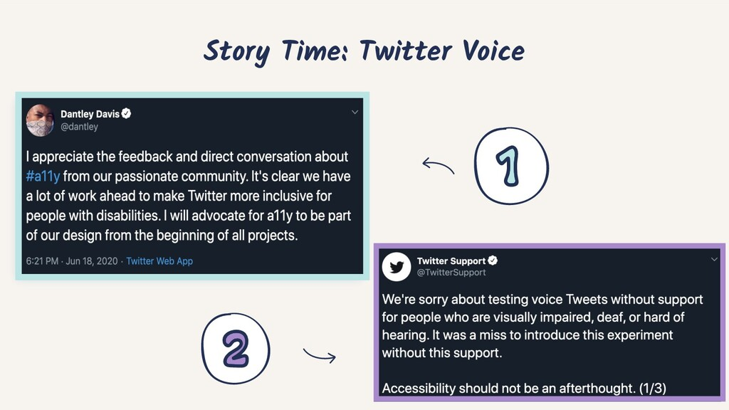Story Time: Twitter Voice