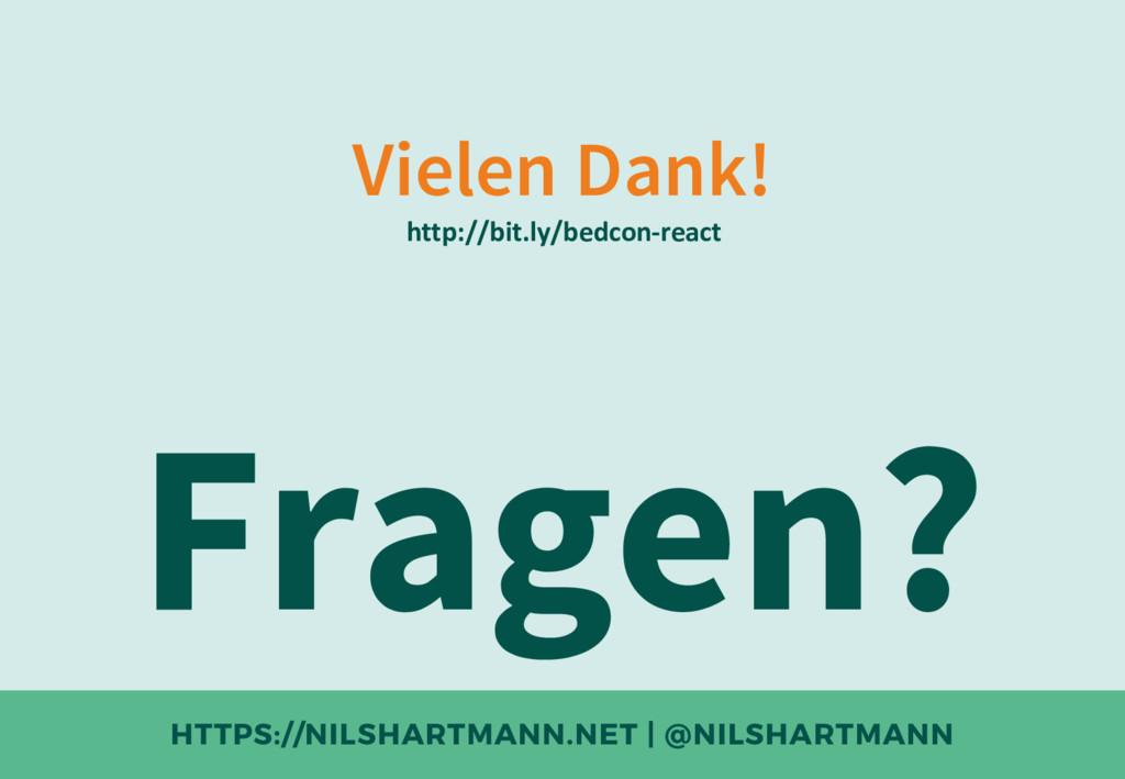 HTTPS://NILSHARTMANN.NET | @NILSHARTMANN Vielen...