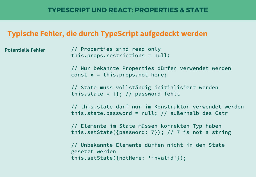 TYPESCRIPT UND REACT: PROPERTIES & STATE // Pro...