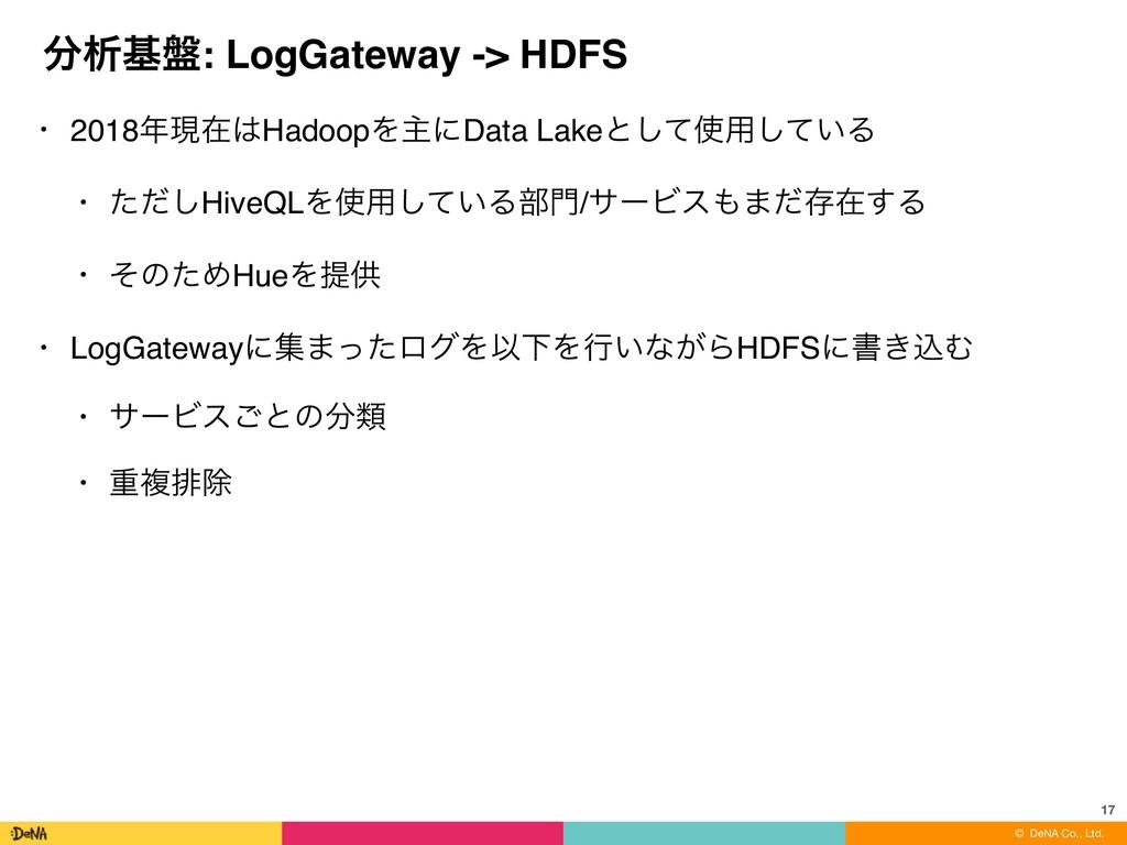 ɹɹɹɹɹɹɹɹɹɹɹɹɹ© DeNA Co., Ltd. ੳج൫: LogGateway ...