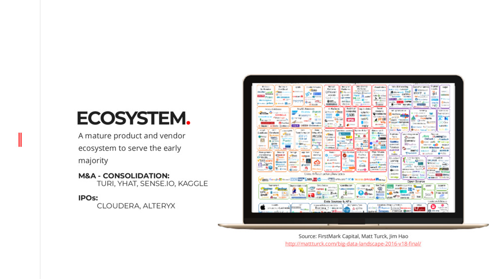 ECOSYSTEM. A mature product and vendor ecosyste...