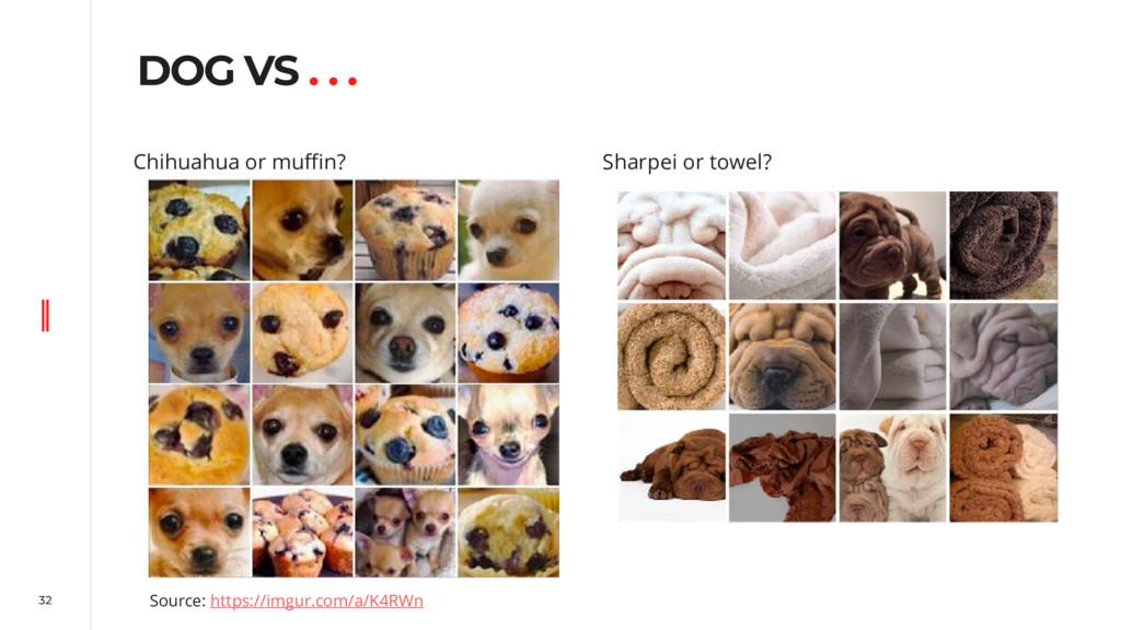 32 DOG VS . . . Source: https://imgur.com/a/K4R...