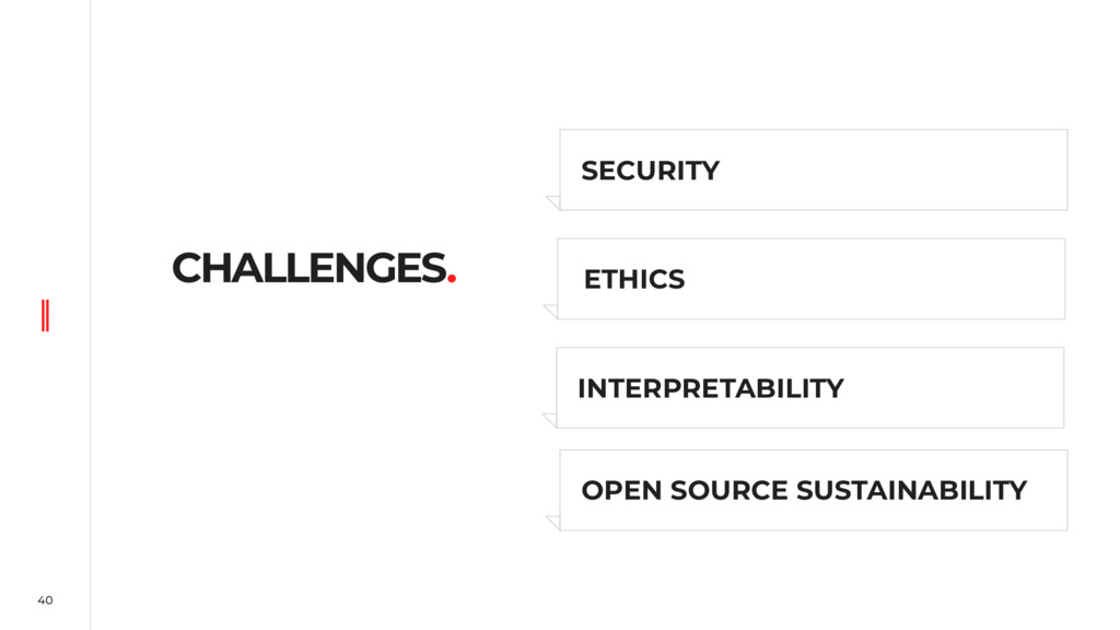 40 CHALLENGES. SECURITY OPEN SOURCE SUSTAINABIL...