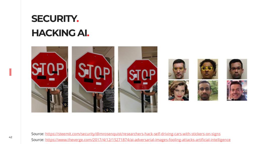 42 SECURITY. HACKING AI. Source: https://steemi...