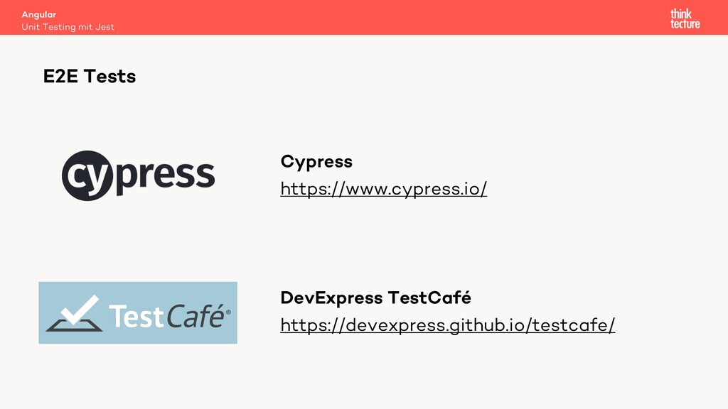 Cypress https://www.cypress.io/ DevExpress Test...