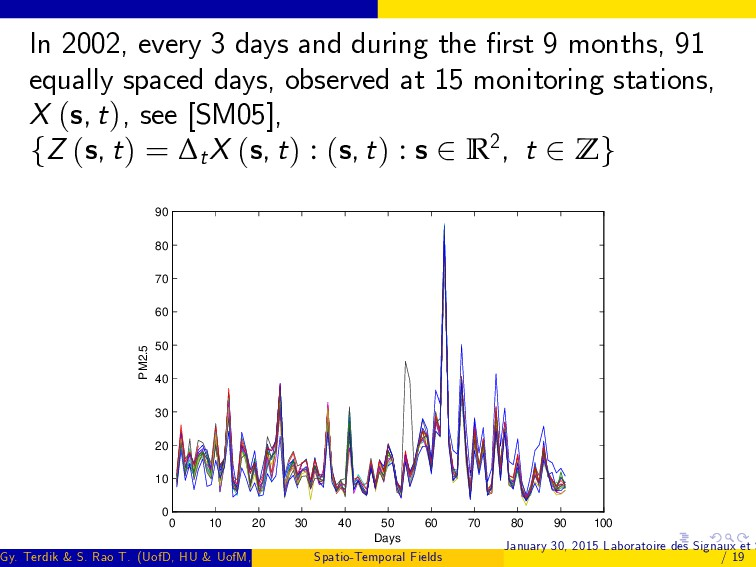 In 2002, every 3 days and during the …rst 9 mon...