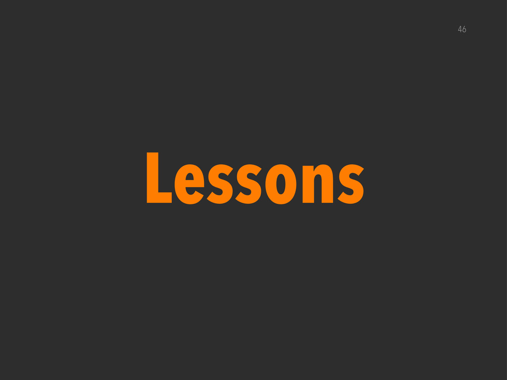Lessons 46