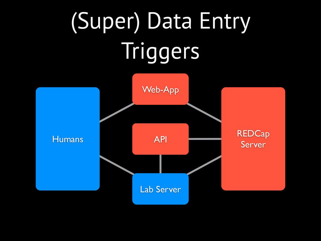 (Super) Data Entry Triggers REDCap Server Web-A...