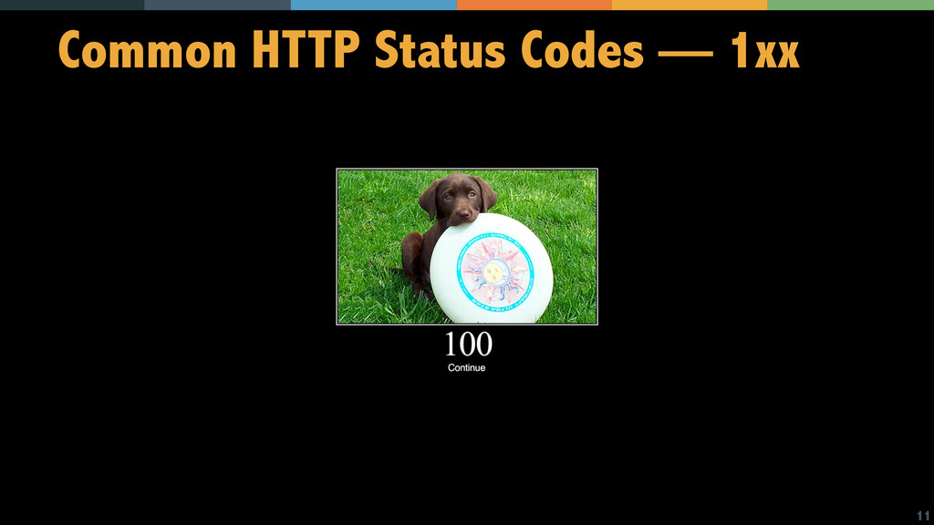 11 Common HTTP Status Codes — 1xx