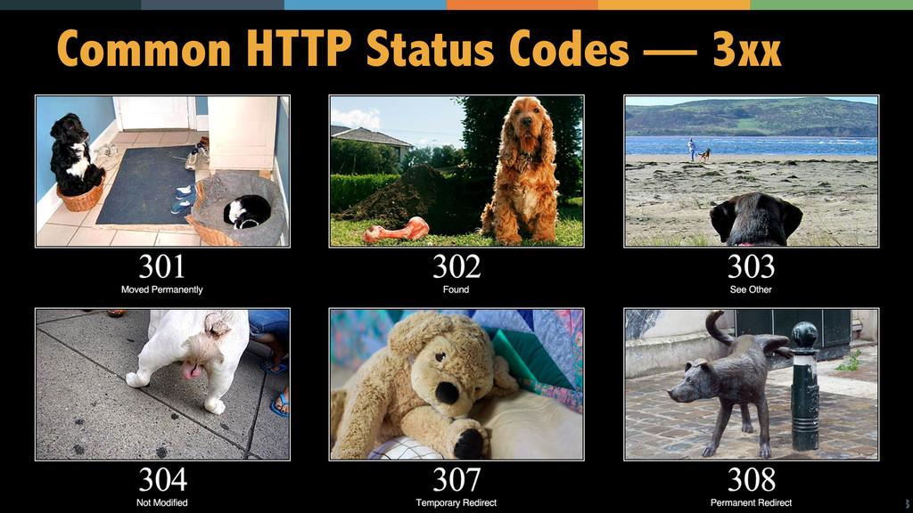 13 Common HTTP Status Codes — 3xx