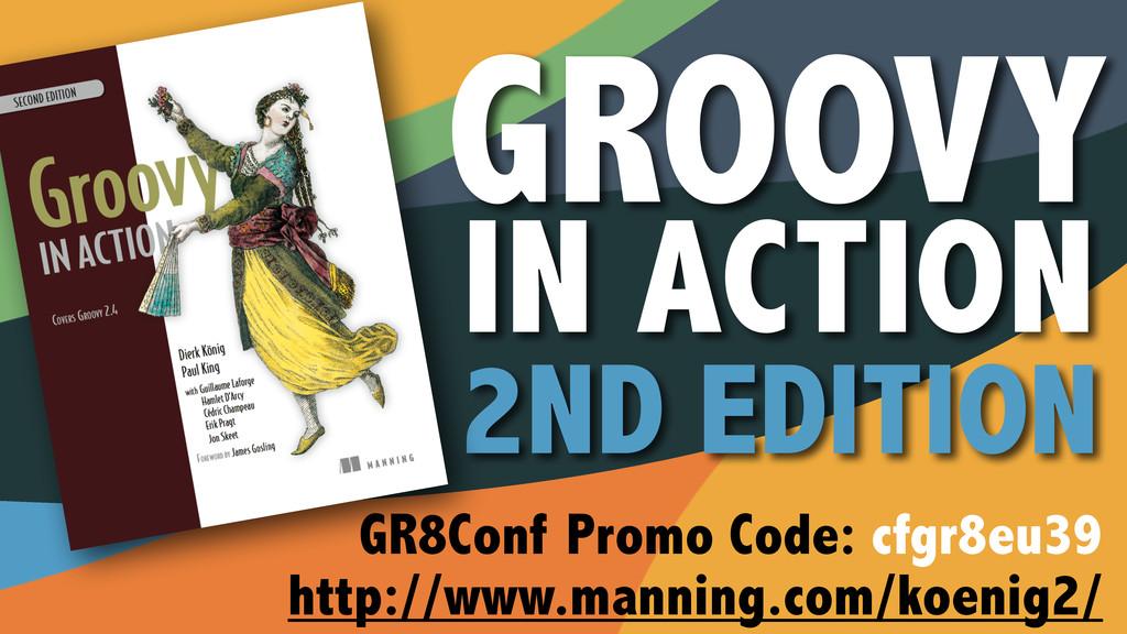 GR8Conf Promo Code: cfgr8eu39 http://www.mannin...