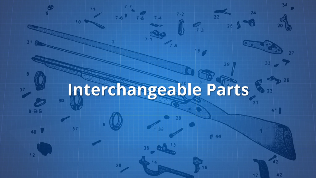 Interchangeable Parts