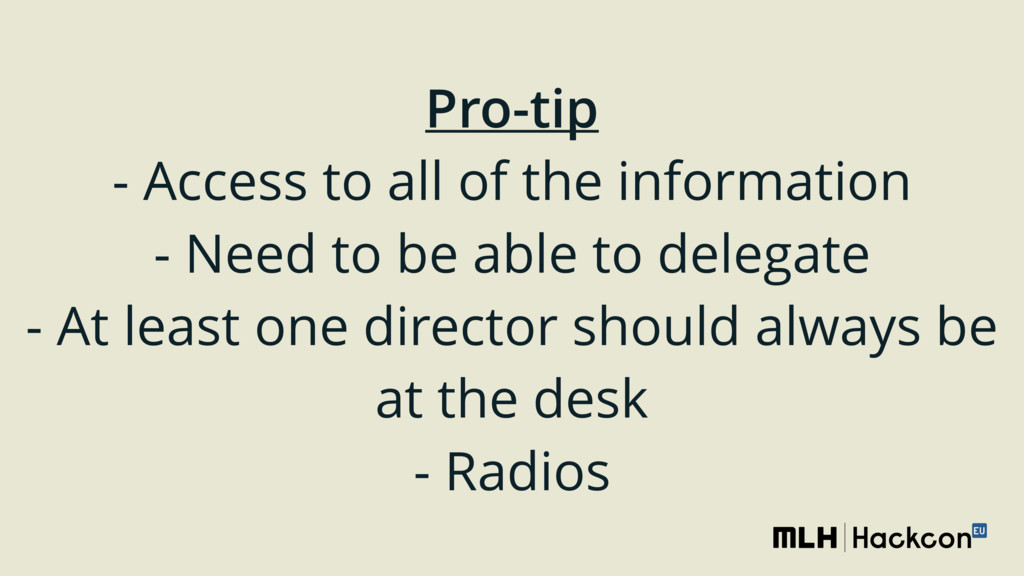Pro-tip - Access to all of the information - ...