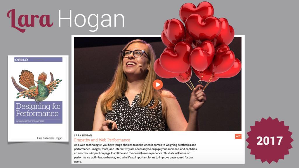 Lara Hogan 2017