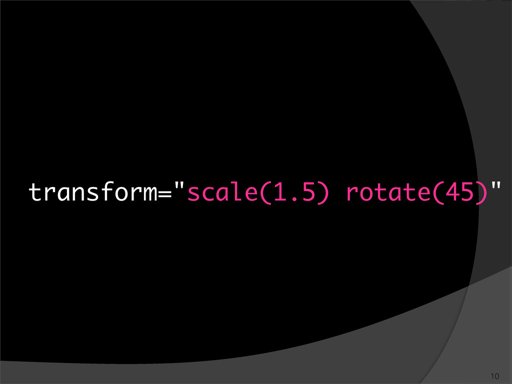 "transform=""scale(1.5) rotate(45)"""