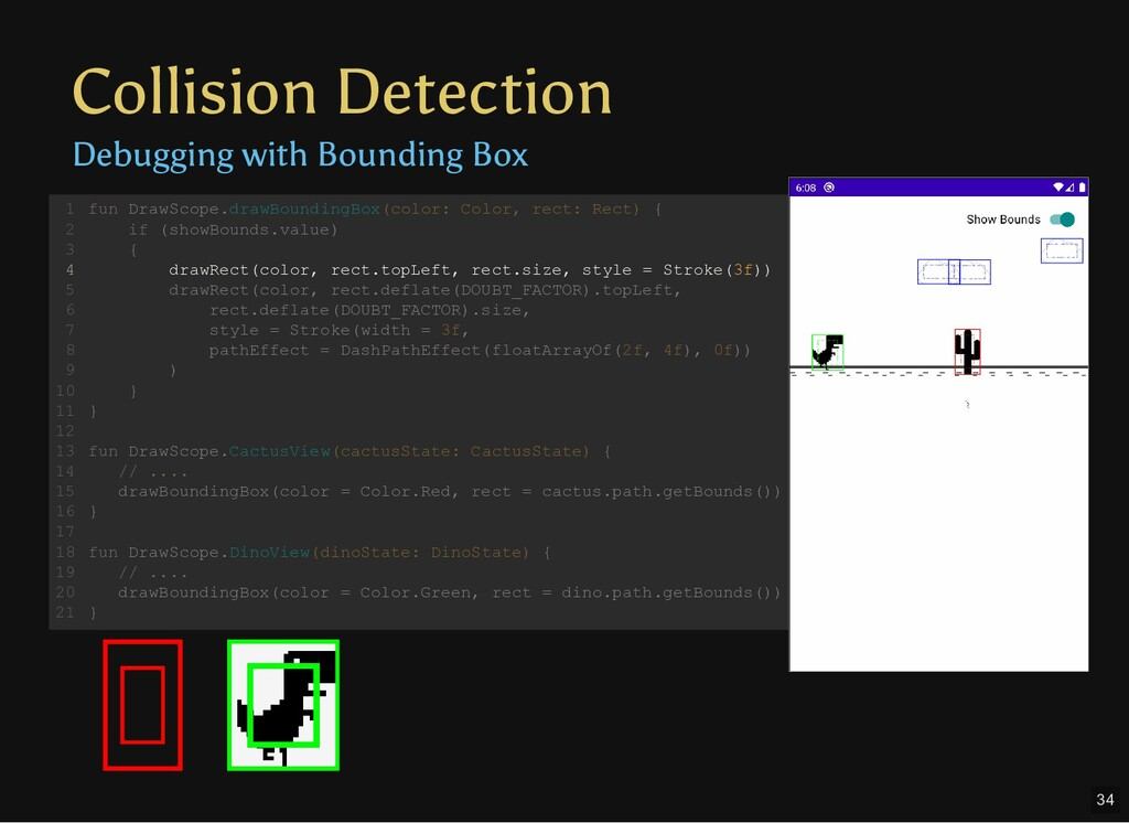 Collision Detection Debugging with Bounding Box...