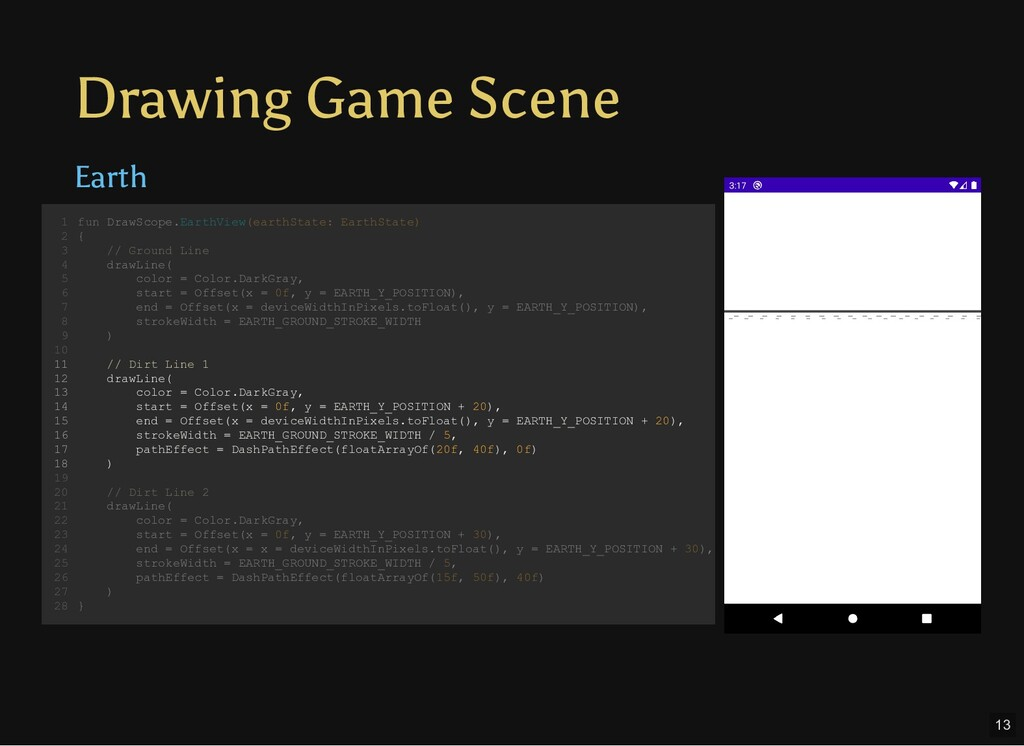 Drawing Game Scene Earth fun DrawScope.EarthVie...