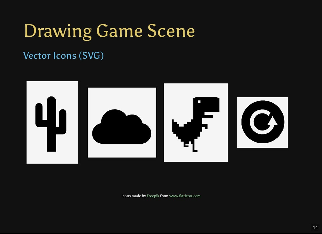 Drawing Game Scene Vector Icons (SVG) Icons mad...