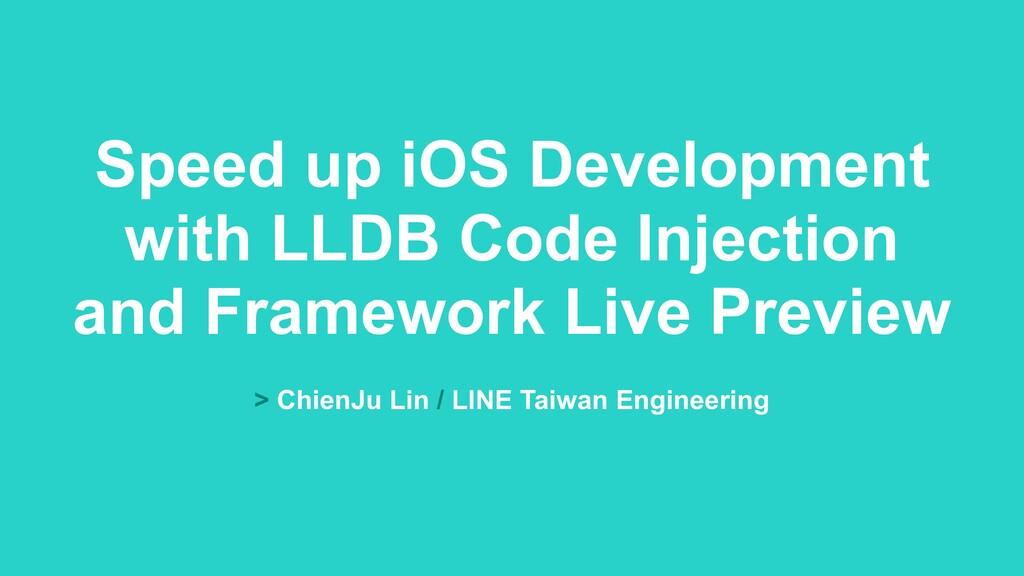 > ChienJu Lin / LINE Taiwan Engineering Speed u...