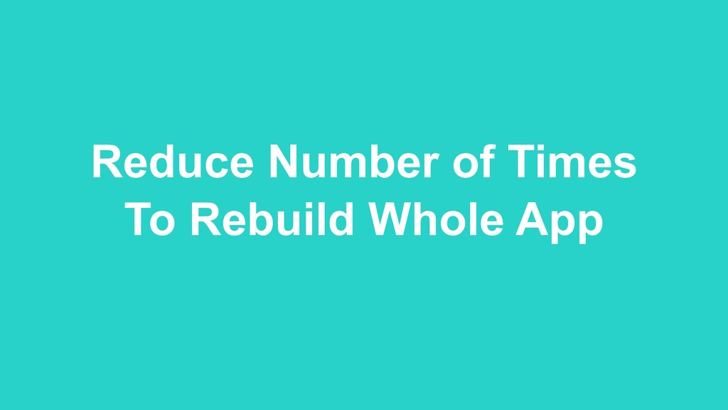 Reduce Number of Times
