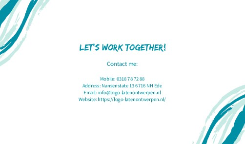 Let's work together! Contact me: Mobile: 0318 7...