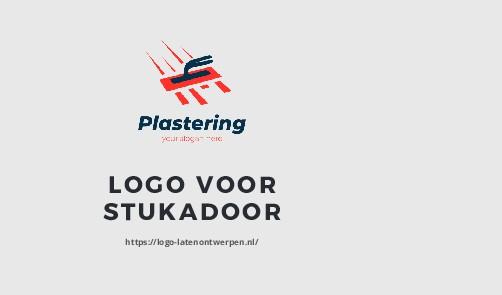 LOGO VOOR STUKADOOR https://logo-latenontwerpen...